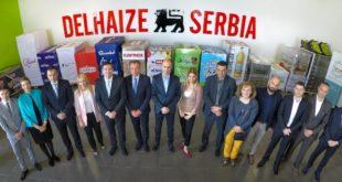 Delez Srbija ,banka hrane,Pomažemo zajedno, donacija