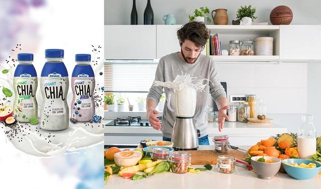 Prvi put u Srbiji, Meggle je za vas pripremio revolucionarni jogurt sa CHIA semenkama, superiornu kombinaciju jogurta sa smanjenim procentom masnoće i CHIA semenkama- pravim predstavnikom superhrane!