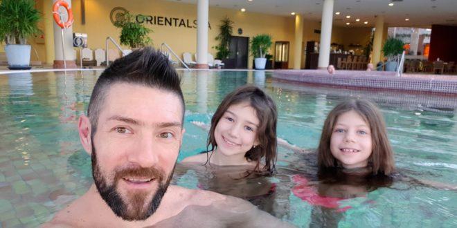 Katarina i Milan Gromilić u Aquaworld Resort Budapest hotelu: Godišnjica uz vodene vratolomije!