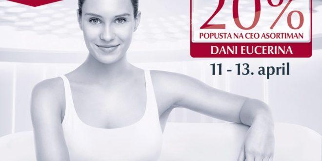 Dani Eucerina, DANI EUCERINA SU VAŠI DANI!, Gradski Magazin, Gradski Magazin